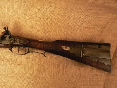 Left Hand Iron Mounted Rifle