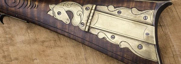 Left Hand Henry Albright Gun