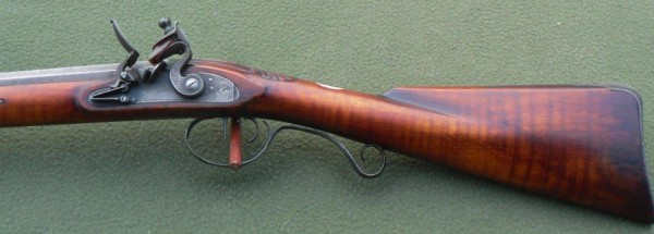 Left Hand English Sporting Rifle