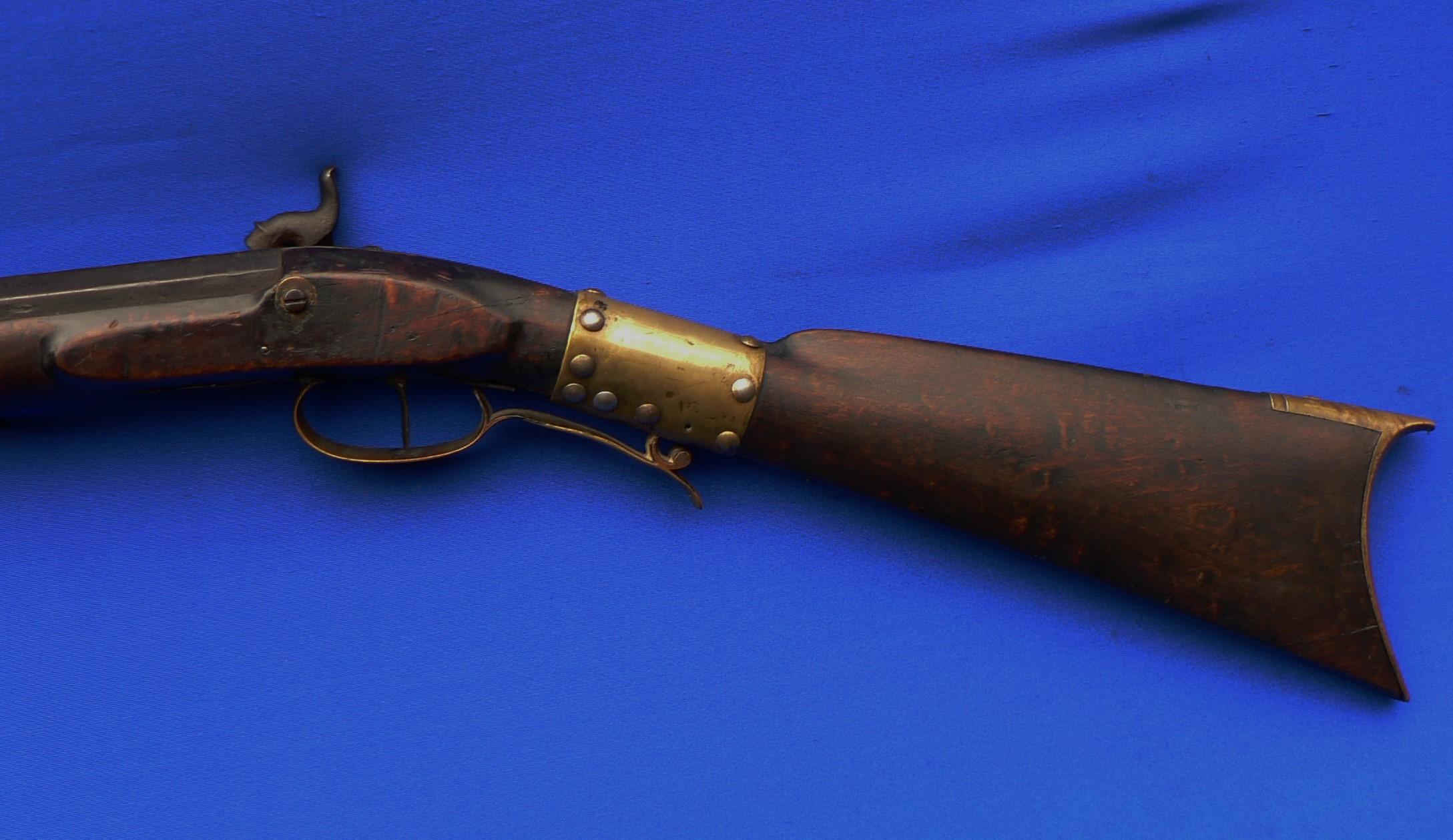 John Fleeger, smooth rifle, 1840-1850 – Recreating History
